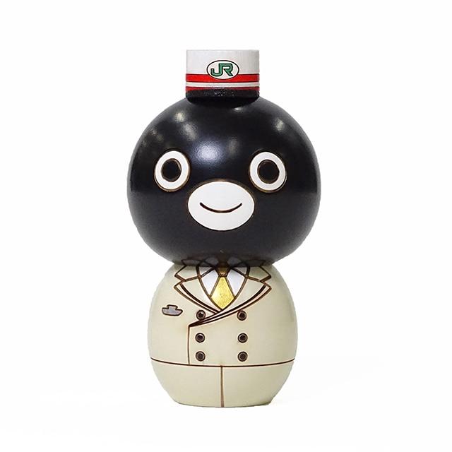 Suicaのペンギン卯三郎こけし(駅長)