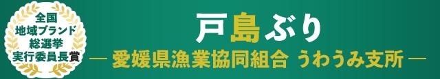 全国地域ブランド総選挙 実行委員長賞 戸島ぶり 愛媛県漁業協同組合 うわうみ支所