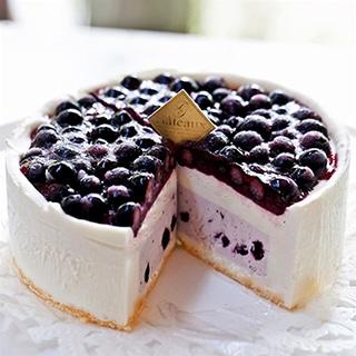 6月の森 ブルーベリーチーズケーキ ナパージュ