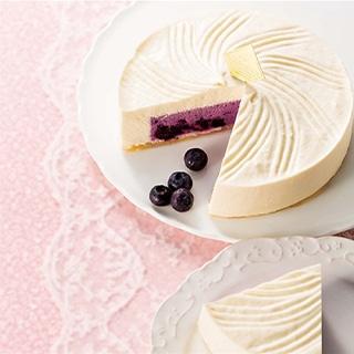 6月の森 ブルーベリーチーズケーキ 6月の雪