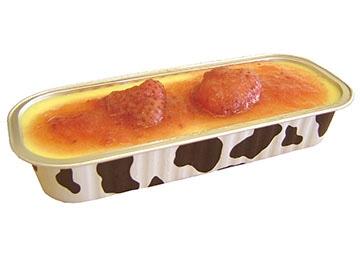 とろけるチーズブリュレプレーン・苺セット