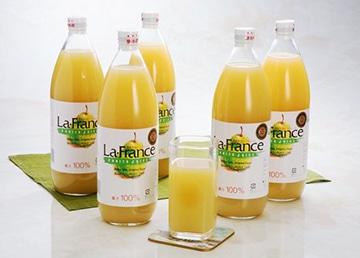 ラ・フランスジュース1L×2本