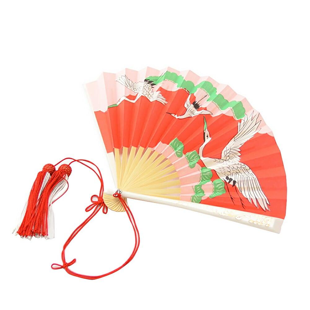 七五三 和装小物 日本製 女の子 末広 柄お任せ 扇子 礼装 通年用 子供 女の子 女児【JS10】